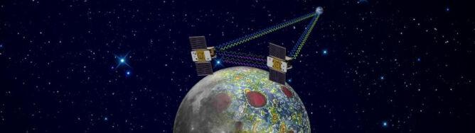 GRAIL prześwietli Księżyc. W 9 miesięcy