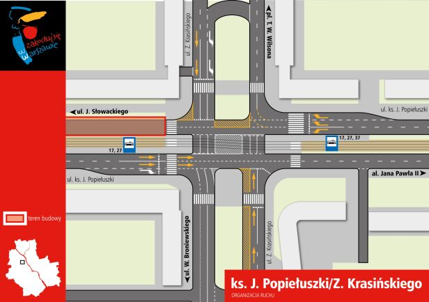 Organizacja ruchu Popiełuszki/ Krasińskiego UM