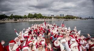 Światowy Kongres Świętych Mikołajów (PAP/EPA/Mads Claus Rasmussen)