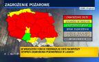 Trzeci stopień zagrożenia pożarowego w Polsce