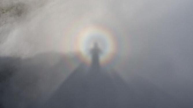 Jak Chrystus zstępujący z nieba. Mamidło górskie olśniło turystów