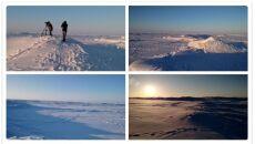 Jezioro Erie skute lodem
