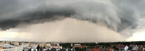 Tak wygląda zapowiedź nadchodzącej burzy