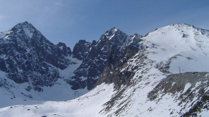 Zginął polski turysta. <br />Miał wypadek w słowackich Tatrach