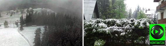 """""""Zimni ogrodnicy przesadzili w Zakopanem"""". Nawet 30 cm śniegu spadło w górach"""