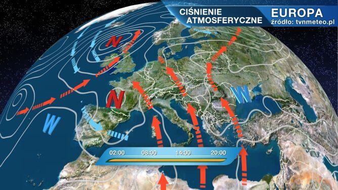 Wyż Nicola rządzi pogodą w Polsce
