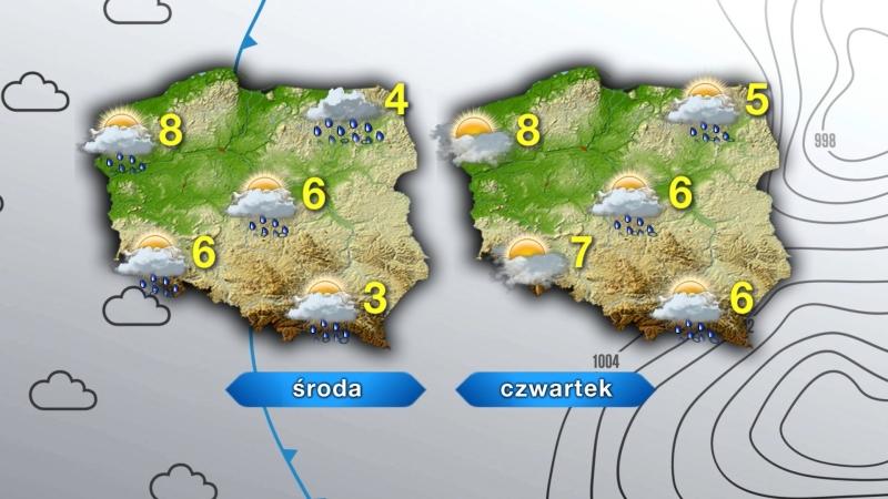 Pogoda w ciągu dwóch dni