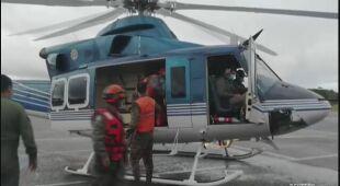 Akcje ratunkowe w Gwatemali