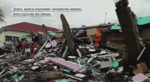 Nadal szukają ofiar trzęsienia ziemi